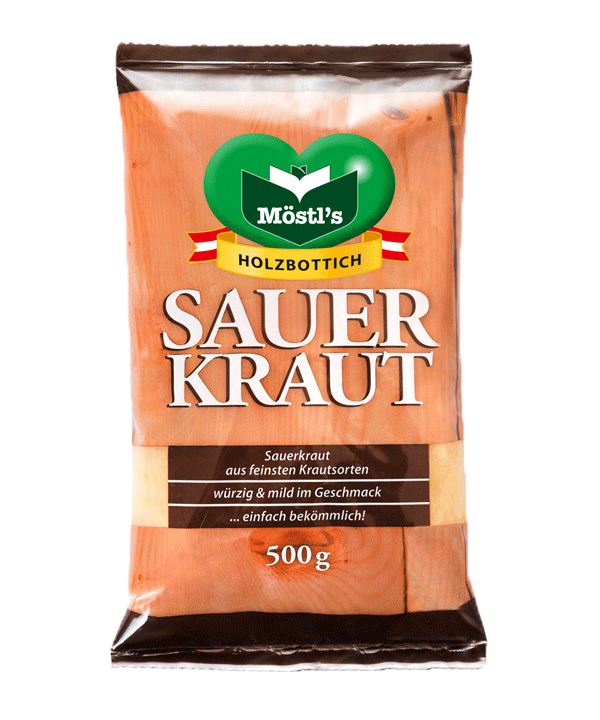 Möstl's Holzbottich-Sauerkraut, Konserviert