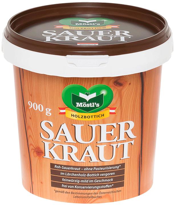 Möstl's Holzbottich-Sauerkraut, frisch
