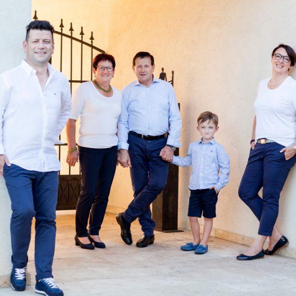 Familienfoto Möstl