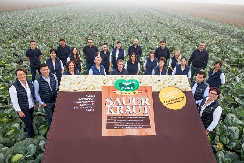 Teamfoto-Moestls-Sauerkraut